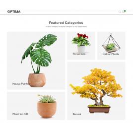 Optima Bitki Teması 1