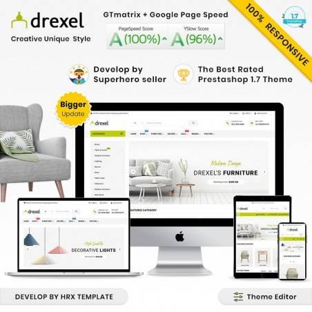 Drexel Mega Mobilya–Bahçe Çok Amaçlı Süper Mağaza Teması
