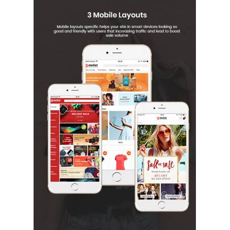 Super Store - 3 Mobil Düzen İçeren Duyarlı Çok Amaçlı OpenCart 3 Teması