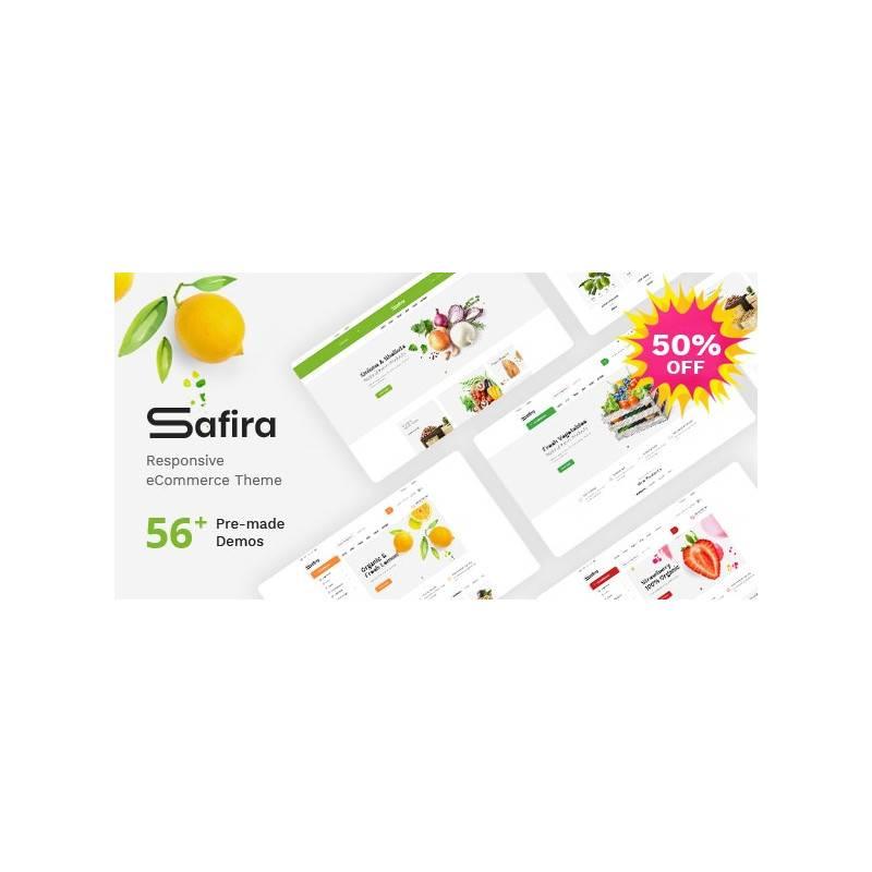Safira - Duyarlı OpenCart Teması