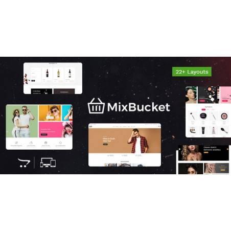 Mix Bucket - Duyarlı OpenCart Teması