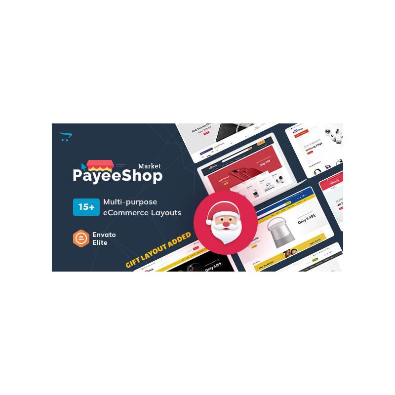 Payee Shop - OpenCart Çok Amaçlı Duyarlı Tema