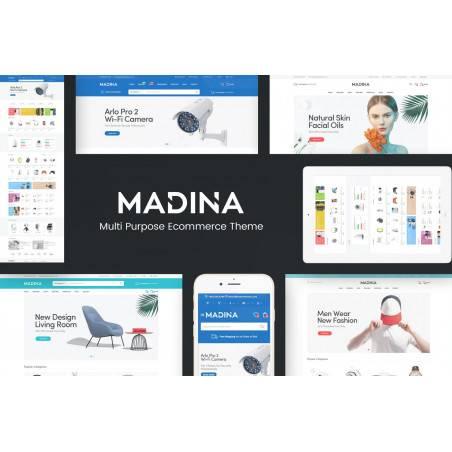 Madina - Duyarlı OpenCart Teması