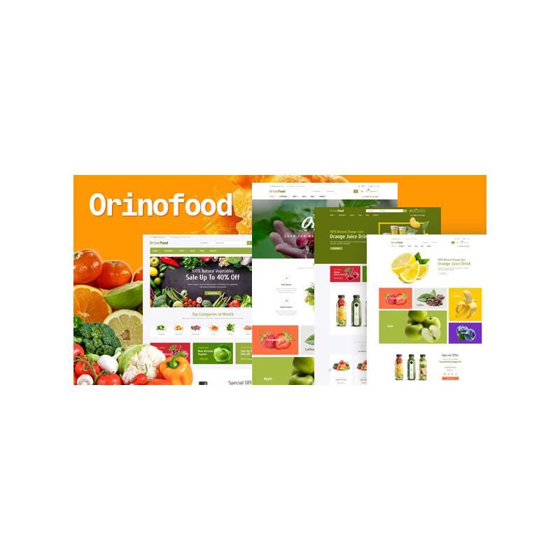 Orinofood - Organik Opencart Teması
