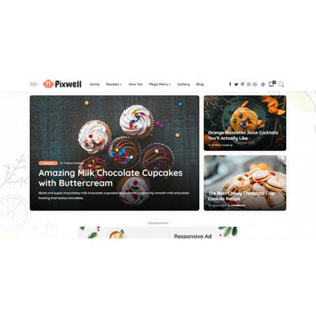 Pixwell - Modern Haber Teması