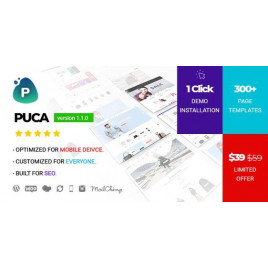 Puca - Optimize Edilmiş Mobil Woo Commerce Teması