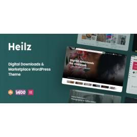 Heilz - Dijital İndirmeler ve Market place Word Press Teması