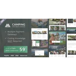 Kamp Köyü - Kamp Alanı Karavan Yürüyüş Çadırı Konaklama