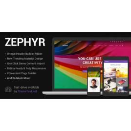 Zephyr Materyal Tasarım Teması