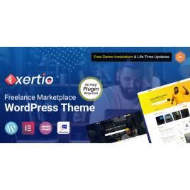 Exertio - Freelance Marketplace WordPress Teması