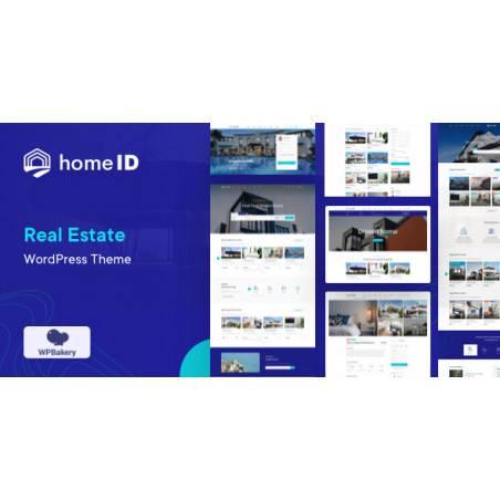 HomeID - Emlak WordPress Teması