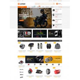 Autusin - Otomobil Parçaları ve Araba Aksesuarları Mağazası Elementor Woo Commerce WordPress Teması