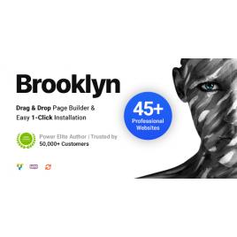 Brooklyn | Yaratıcı Çok Amaçlı Duyarlı WordPress Teması
