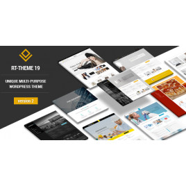 RT-Teması 19 | Çok Amaçlı WordPress Teması
