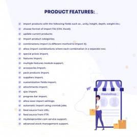 Ürün Kataloğu modülü (CSV, Excel) İçe Aktarma