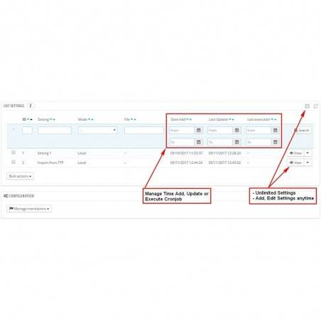 Herhangi bir Csv / Excel File Pro Modülünden Toplu Ürünü İçe Aktarın / Güncelleyin