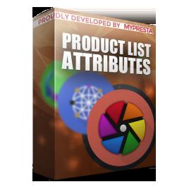 Ürün listesi özellikleri (kombinasyonlar)