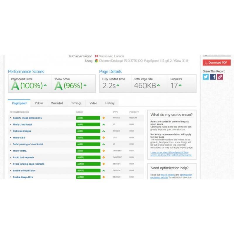 Google Page Speed Insight - Sayfa Hızı Optimizasyonu