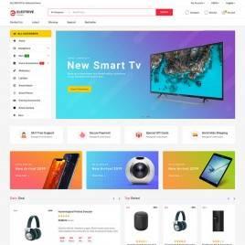 Electrive - Marketplace Elektronik Mağazası Teması